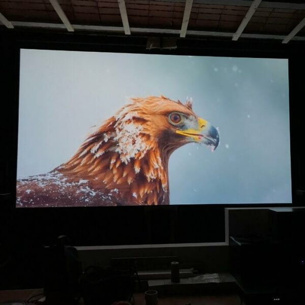 product i m image projected on high gain projector screen paint using smart projector paint pro | smartersurfaces.sg
