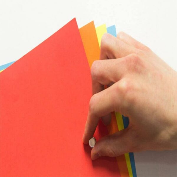 product m a magnetic wallpaper close up holding up pages | smartersurfaces.sg