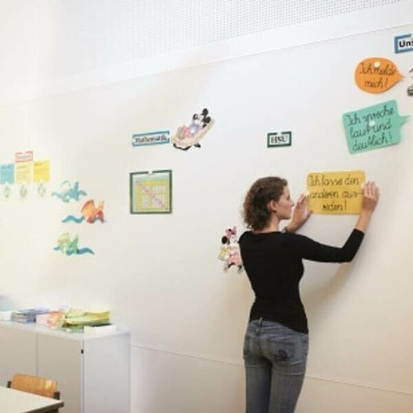 product m a magnetic wallpaper school wall for teaching | smartersurfaces.sg