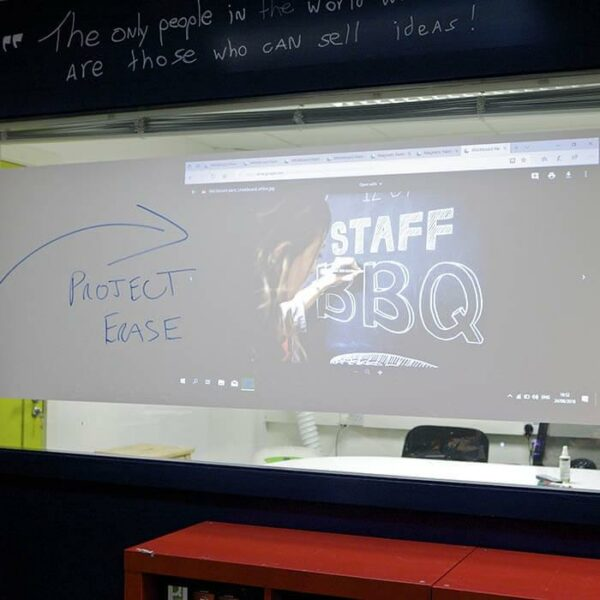product m u multiple functionality surface projection and dry erase | smartersurfaces.sg