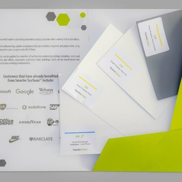 product p r projector screen solutions sample pack contents 1 | smartersurfaces.sg