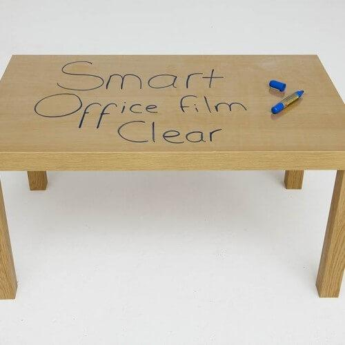 product s e self adhesive whiteboard film table | smartersurfaces.sg