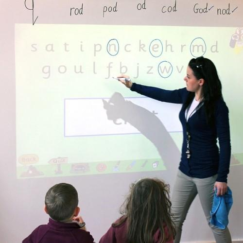 product s m smart whiteboard wallpaper low sheen used in classroom | smartersurfaces.sg