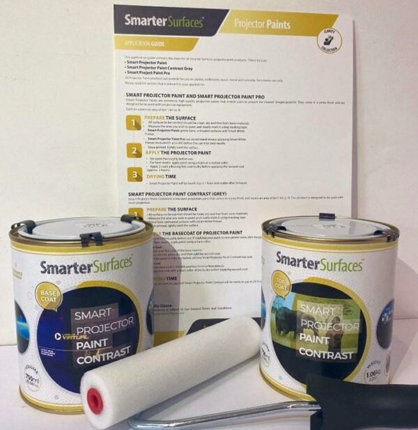 projector paint contrast full kit with app guide | smartersurfaces.sg