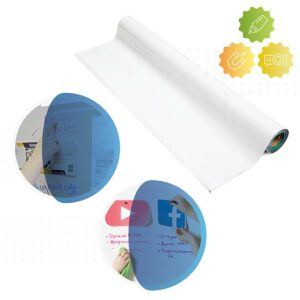 roll of smarter surfaces Magnetic Whiteboard Wallpaper - Low Sheen