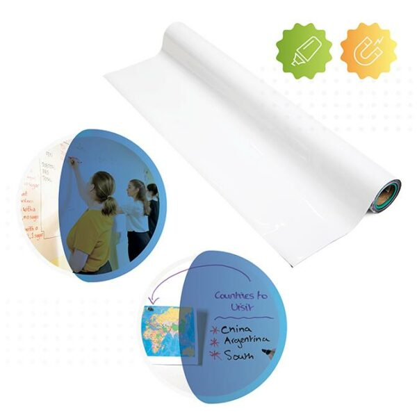 roll of smarter surfaces Magnetic Whiteboard Wallpaper