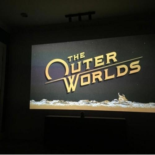 smart projector paint contrast used for gaming and home theatre | smartersurfaces.sg